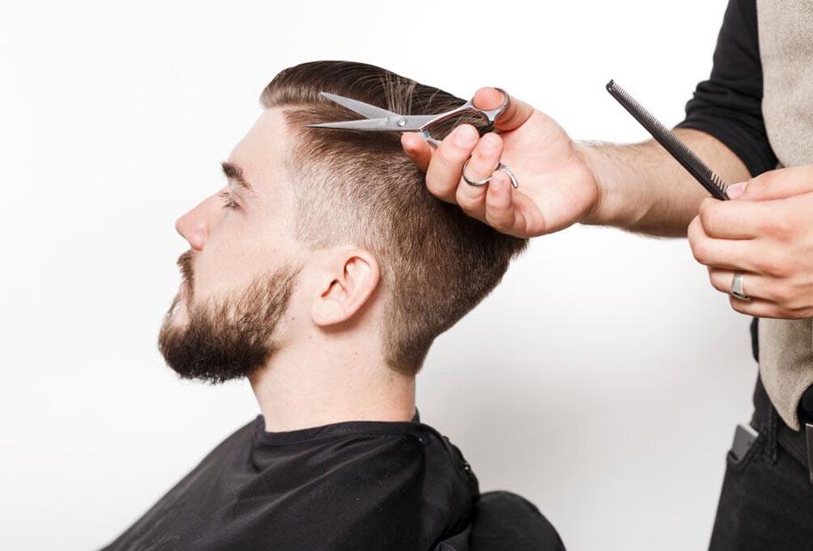 Мужские прически для парикмахера