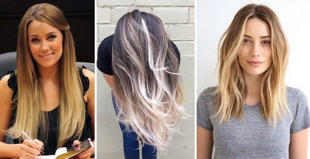 Фото самое модное окрашивание волос